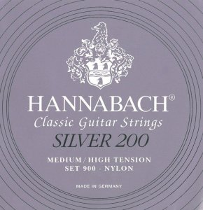 652667 Струни для класичної гітари Hannabach 900MНT