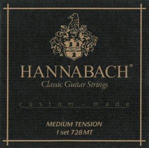 Струни для класичної гітари Hannabach 728MT