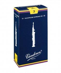 Тростина для сопрано саксофона Vandoren 3