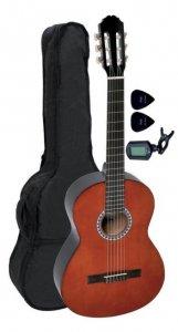 Класична гітара GEWApure Basic 3/4 (Walnut) + чохол + тюнер + медіатори