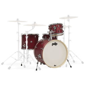 Барабанна установка PDP Spectrum Series Cherry Satin 4 Shell Set