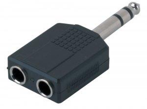 Перехідник GEWA Adapter 2 x Stereo Jack 6,3 mm - Stereo Jack 6,3 mm