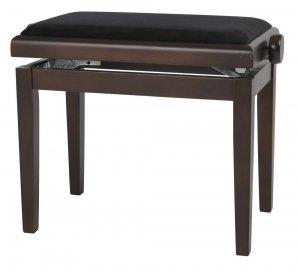 Банкетка для клавішних GEWA Pianobench Walnut Dark Matt