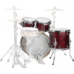 Барабанна установка Gretsch USA Brooklyn GB-E8246 Satin Cherry Red
