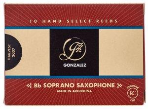 Тростина для сопрано саксофон Gonzalez Soprano Sax RC x 10 2 1/2