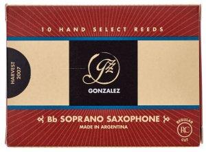 Тростина для сопрано саксофон Gonzalez Soprano Sax RC 3