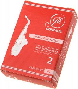 Тростина для альт саксофон Gonzalez Alto Sax RC x 10 2
