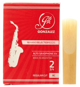 Тростина для альт саксофон Gonzalez Alto Sax RC x 10 2 3/4