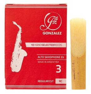 Тростина для альт саксофон Gonzalez Alto Sax RC x 10 3