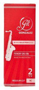 Тростина для тенор саксофон Gonzalez Tenor Sax RC x 5 2 1/2