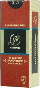 Тростина для барітон саксофон Gonzalez Baritone Sax RC x 5 3