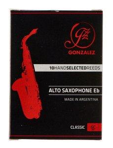 Тростина для альт саксофон Gonzalez Alto Sax Classic x 10 3