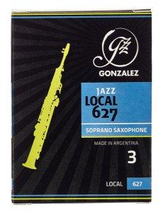 Тростина для сопрано саксофон Gonzalez Soprano Sax Local 627 Jazz x 10 3