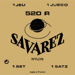 Струни для класичної гітари Savarez Red Card 520R NORMAL TENSION