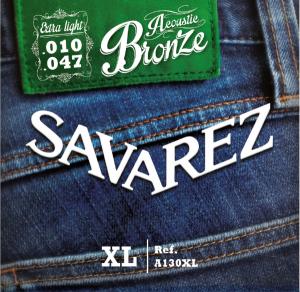 Струни для акустичної гітари SAVAREZ A130XL