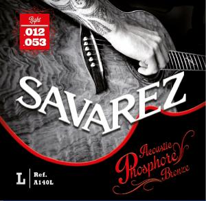 Струни для акустичної гітари SAVAREZ A140L