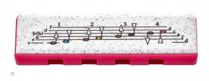 Губна гармошка Hohner M91313 Speedy Cherry/Pink