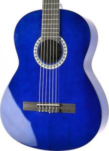 Класична гітара GEWApure VGS Basic 4/4 (Transparent Blue)