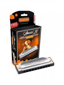 Губна гармошка Hohner M560066X F Special 20 Box