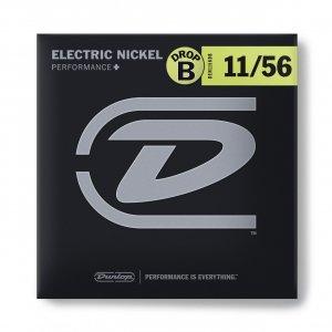 Струни для електрогітари Dunlop DEN1156DB (Drop B)