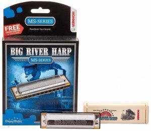 Губна гармошка Hohner M590106X Big River Harp A (Box)