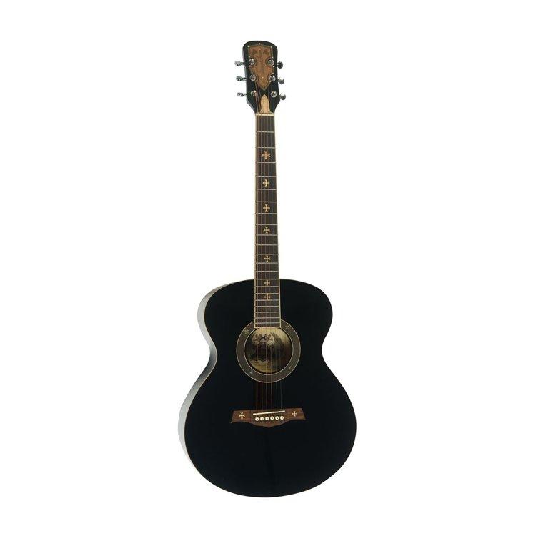 Акустична гітара Crusader CF-6001FM BK