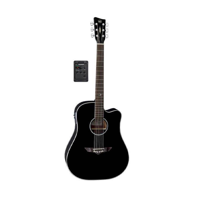 Акустична гітара VGS RT-10 CE Root Black