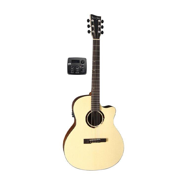 Електроакустична гітара VGS R-20 CE Rose