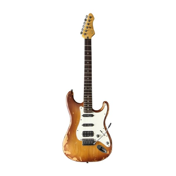 Електрогітара VGS RoadCruiser VST-110 Select Relic Tobacco Burst