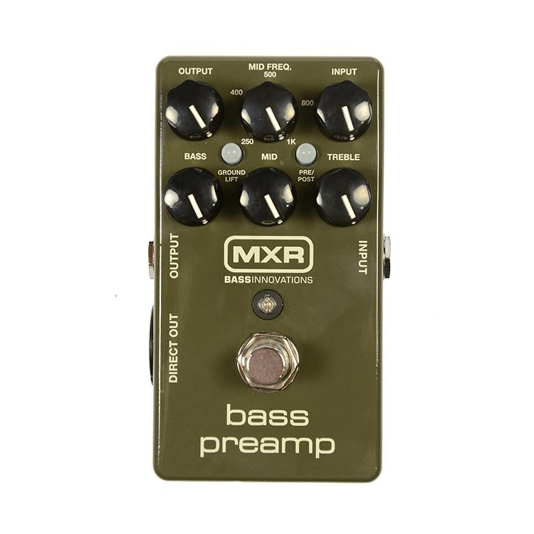 Преамп для бас-гітари MXR Bass Preamp M81