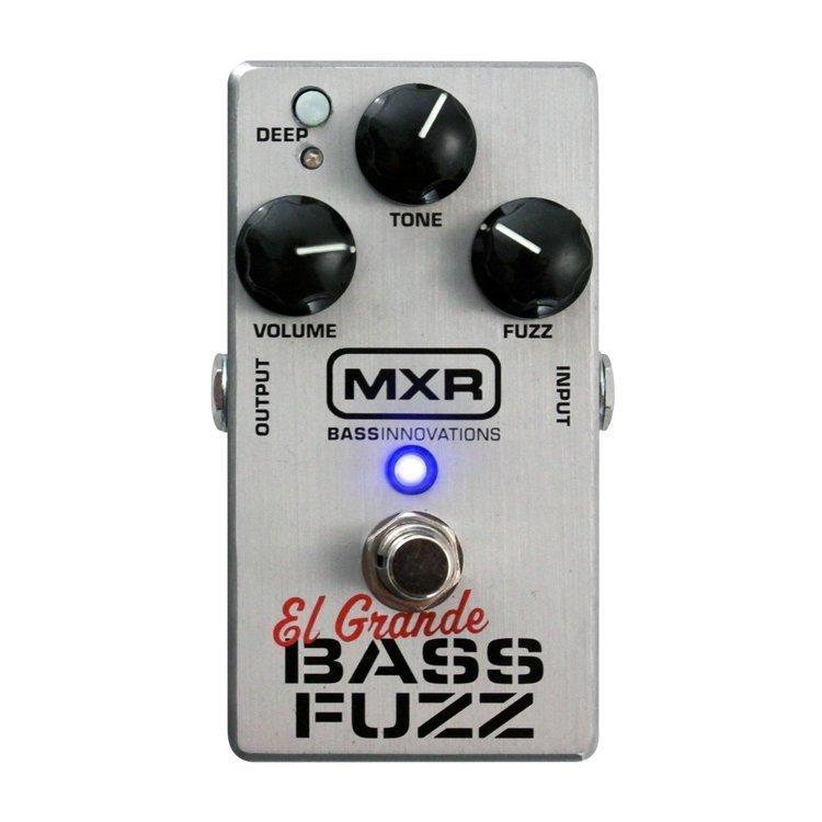 Педаль ефектів MXR M182 El Grande Bass Fuzz