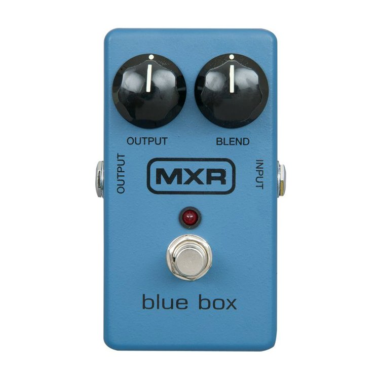 Педаль ефектів MXR M103 Blue Box Octave Fuzz