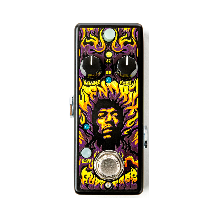 Педаль гітарна MXR Fuzz Face Mini Authentic Hendrix '69 JHW1G1