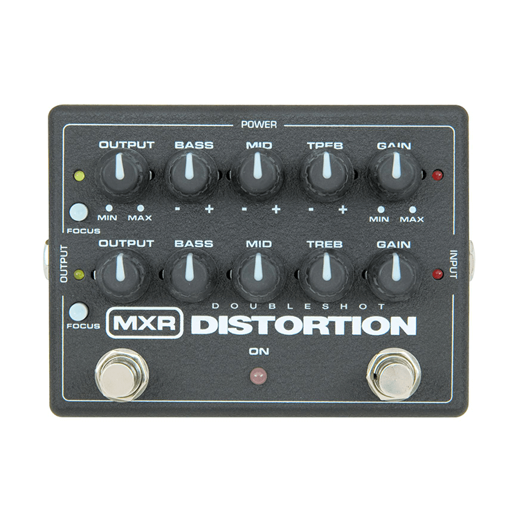 Педаль ефектів MXR Doubleshot Distortion M151EU