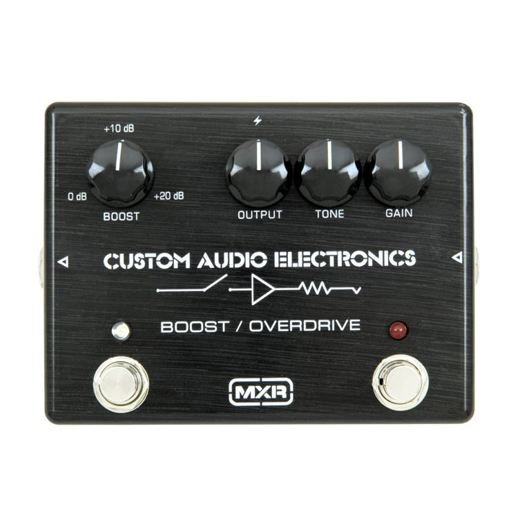 Педаль ефектів Custom Audio Electronics MC402 Boost/Overdrive