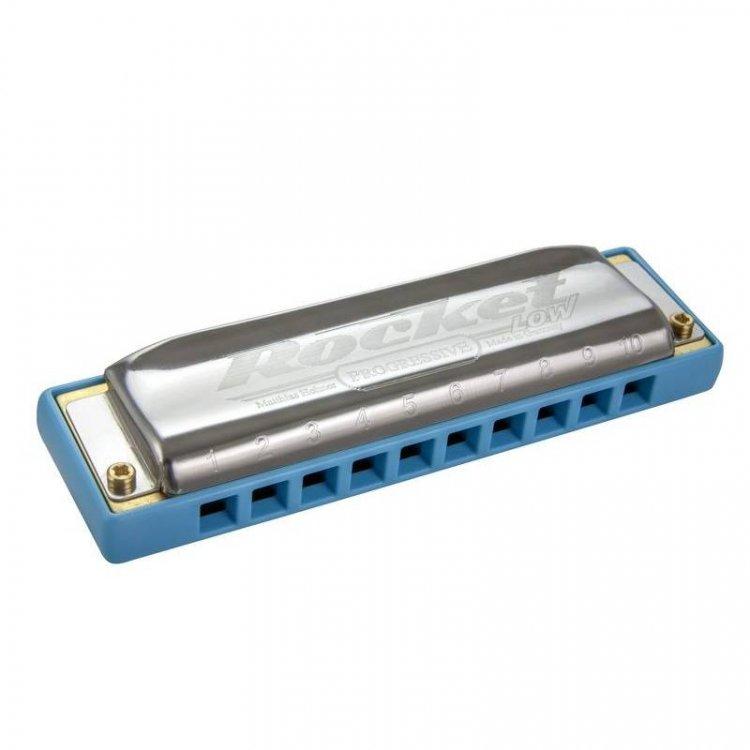Губна гармошка Hohner M201697X Rocket LOW LC Box