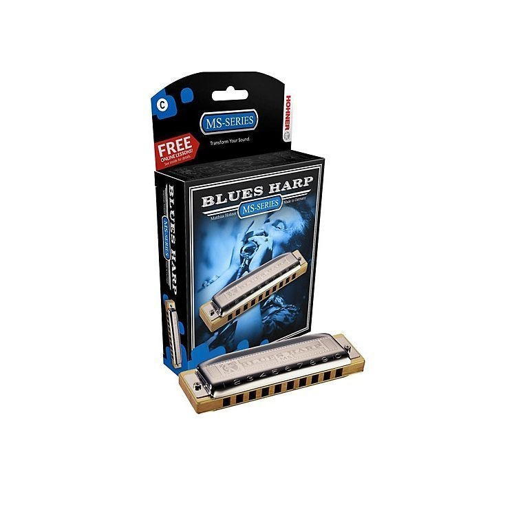 Губна гармошка Hohner Blues Harp  MS A-major М533106