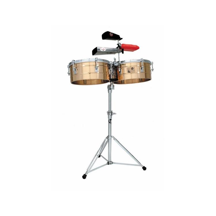 Тімбалес Latin Percussion LP255-B Tito Puente Solid Brass