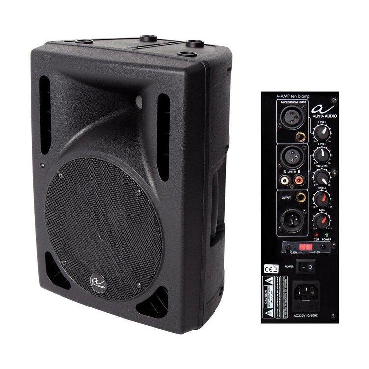 Акустична система Alpha Audio A-Amp Ten Biamp 10