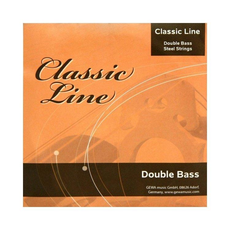 Струни для контрабаса GEWApure Classic Line Double Bass Steel 4/4