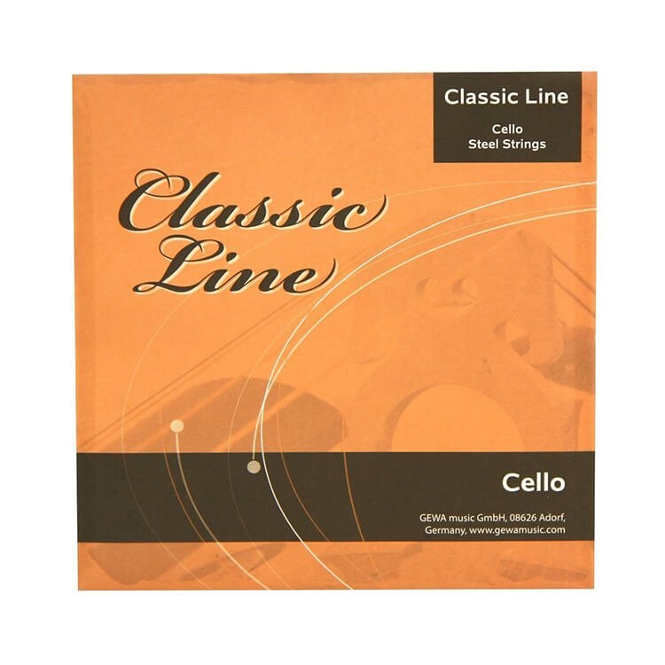 Струни для віолончелі GEWApure Cello String Set Classic Line 1/2