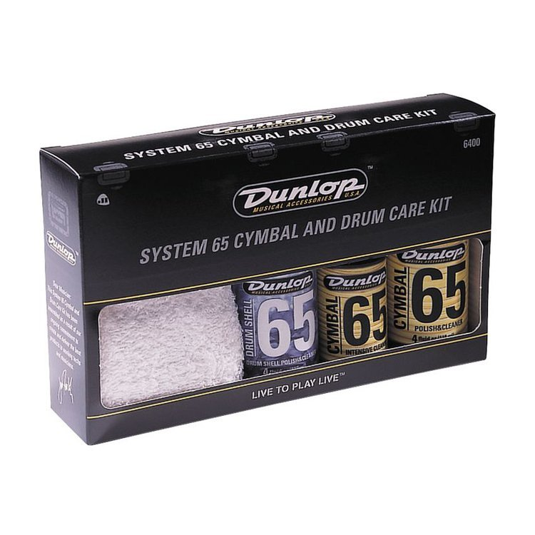 Поліроль Dunlop Cymbal And Drum Care Kit