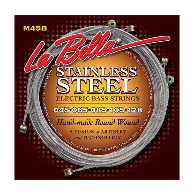 Струни для бас-гітари La Bella M45B