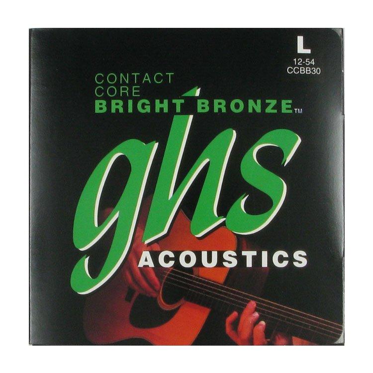 Струни GHS Contact Core™ Bright Bronze CCBB30