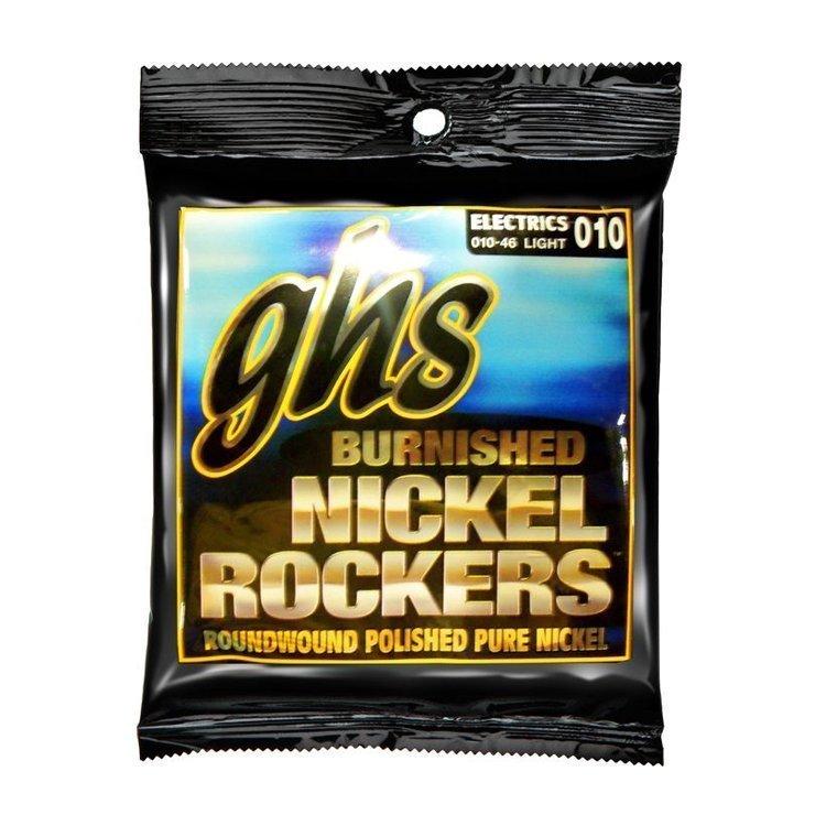 Струни GHS Burnished Nickel BNR-L (.10 - .46)