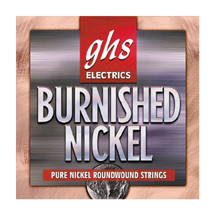 Струни GHS  Burnished Nickel Roundwound BNR-XL (.09 - .42)
