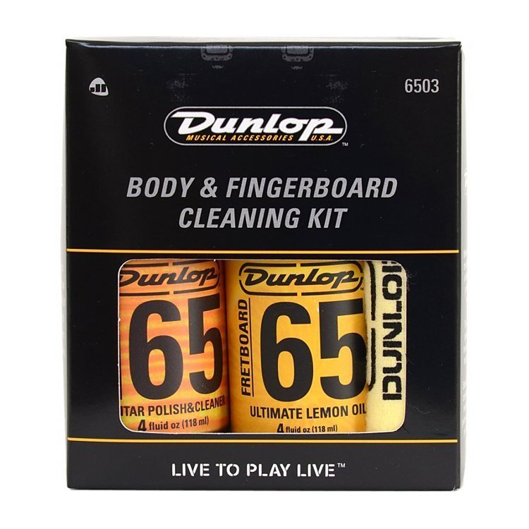 Поліроль Dunlop Body And Fingerboard Cleaning Kit
