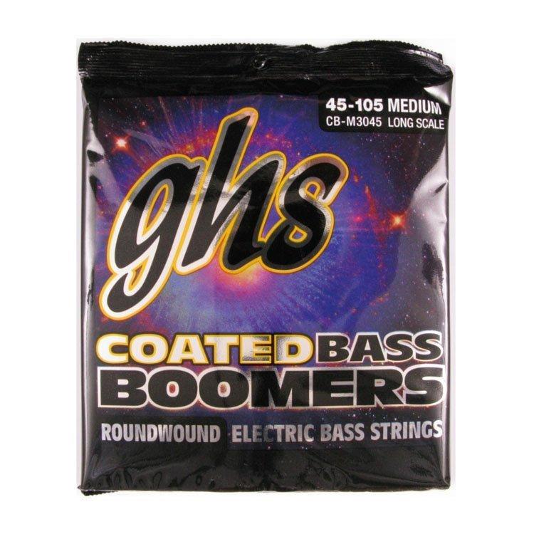 Струни GHS Bass Coated Boomers CB-М3045