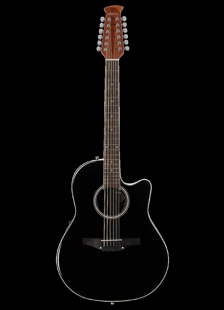 Електроакустична гітара Ovation Applause Standard AB2412II-5 Black
