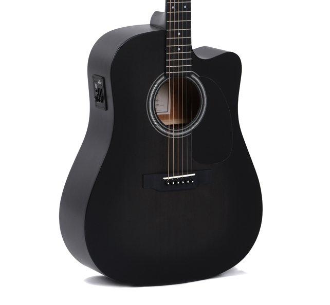 Електроакустична гітара Sigma DMCE-BKB+